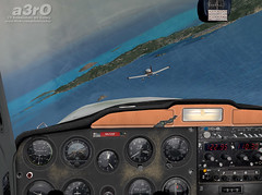 A great day to fly (a3rO) Tags: stbarth fs2004 carabes fs9 c150 fravin tffj