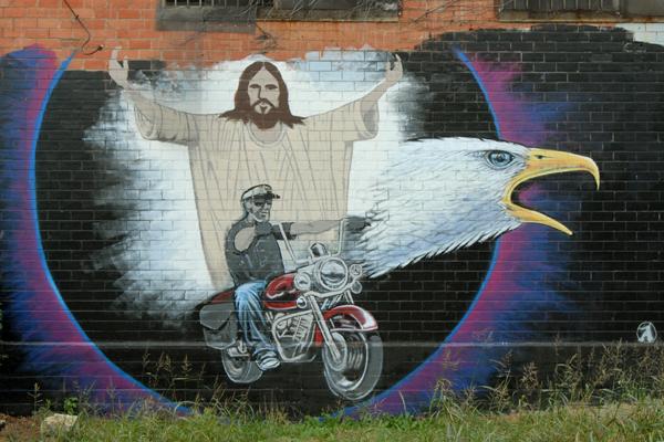 Jesus is a Biker