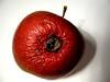 Wurmloch (sulamith.sallmann) Tags: old red berlin rot apple fruit deutschland alt decay frucht apfel challenger obst xyz verfall zerfall verwelkt wurmloch rötlich faltig verschrumpelt challengeyouwinner äpfelchen sulamithsallmann fu0 ungeniesbar