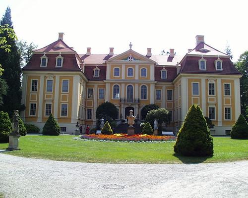 Barockschloss Rammenau - sch�nste Landbarockanlage in Sachsen