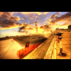 San Francisco Sunset (Dimitri Depaepe) Tags: sunset boat ship antwerp soe hdr antwerpen orton themoulinrouge magicdonkey abigfave aplusphoto flickrplatinum infinestyle megashot thegardenofzen
