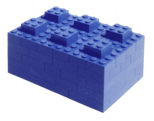 This Ao-iro LEGO SYSTEM is this Ao-iro LEGO SYSTEM.|この青いレゴブックは、この青いレゴブックである。