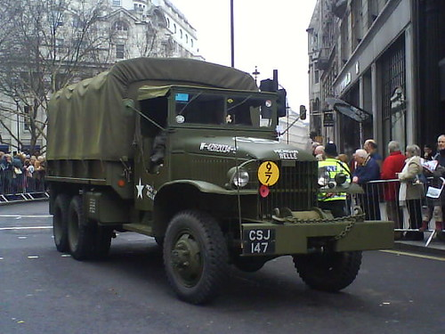 U.S. Army truck (london parade)