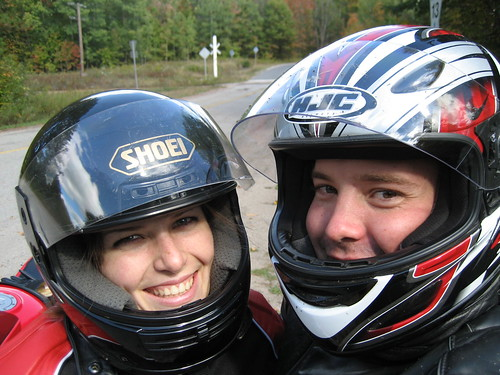 Angela and me on road 13