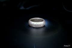 The One Ring (franz75) Tags: night d50 nikon ring tolkien onering lordofthering anello flickrspecial signoredeglianelli p1f1 wowiekazowie unicoanello