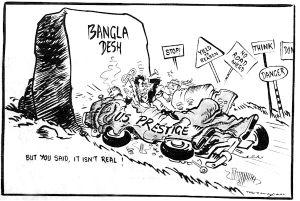 Bangladesh Liberation War Cartoon