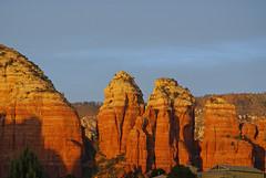 Sunsetting on Sedona Rocks