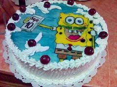 Spongyabob (pinter_szilvi) Tags: paint marzipan torta