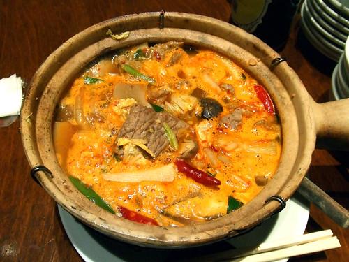牛肉のうま辛煮込み麺