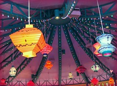 Lanterns..... (MAy sIx  th'  GirL) Tags: orange girl yellow may lamps colourful sixth latterns