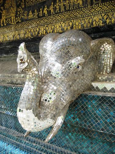 Mosiac Glass Elephant