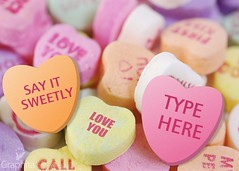 Change the words in the sweethearts !