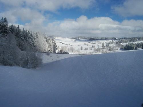 The Jura under snow
