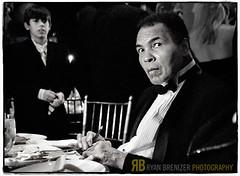 Ali. (Ryan Brenizer) Tags: newyorkcity november boy blackandwhite celebrity work nikon photojournalism 2006 ali 1755mmf28g louisville d200 muhammadali muhammedali cshl thechamp louisvillelip