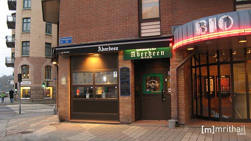 Göteborg - Aberdeen