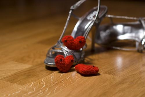 three of hearts in heels