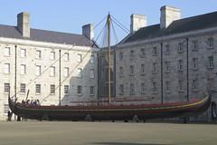 Sea Stallion (limerickdoyle) Tags: ireland dublin museum denmark boat exhibition viking raids plunder seastallion canong9