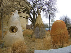 NMAI_Always Becoming-2 (catface3) Tags: sculpture art washingtondc smithsonian mud bamboo holes clay locust teepees thecapitol noranaranjomorse santaclarapueblo alwaysbecoming nationalmuseumofamericanindian catface3