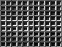 Waffle (Matt Carman) Tags: shadow bw building nature wall architecture square grid blackwhite pattern symmetry backgrounds gothamist ideas waffle batteryparkcity governorsisland sigma28300mm pentaxk10d justpentax