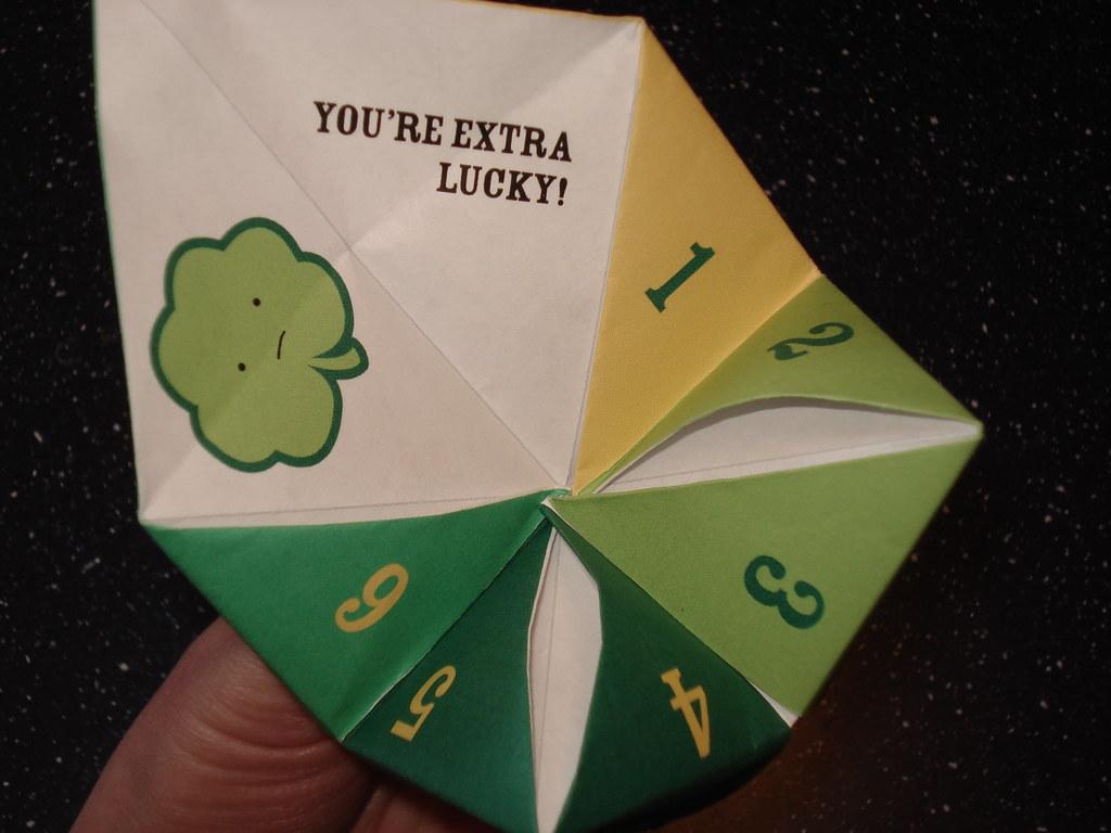 Cautious Clover Fortune Teller