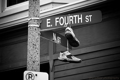 E. FOURTH ([phil h]) Tags: bw 15fav monochrome topv111 boston eos march blackwhite shoes massachusetts sigma fv10 thursday southboston 2007 bostonist 28105mm utatathursdaywalk46 img0323lred1wm