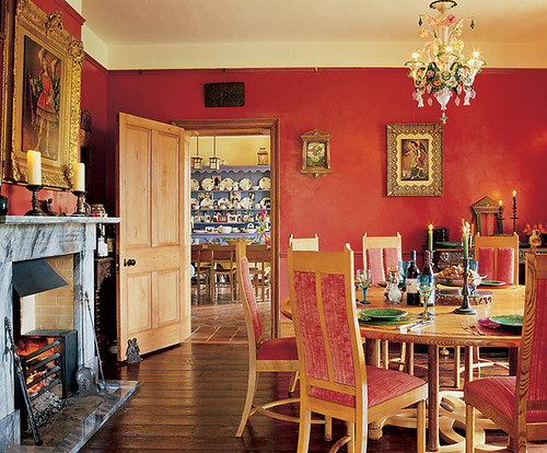 Ben Kingsley dining room interior