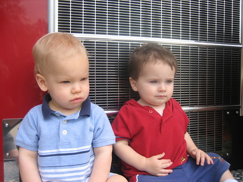 "The ""Little Boys"" at the Fire Station"