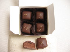 Apricot Butter Ganache Chocolates