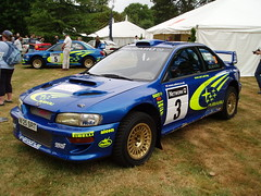 Richard Burns' Subaru Impreza WRC (jane_sanders) Tags: sussex westsussex wrc subaru impreza fos goodwood subaruimpreza festivalofspeed gfos goodwoodfestivalofspeed worldrallychampionship richardburns