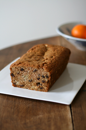 Rum Raisin Apple Bread