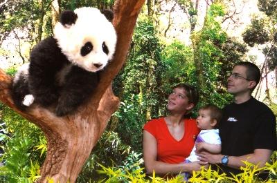 Mit dem Pandawuzi