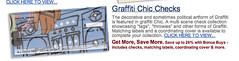 Graffiti Chic Checks (tpauly) Tags: screenshot grafitti checks commodification