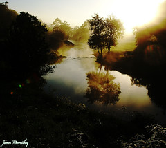 Morning Reflection ! (James Whorriskey (Delbert Jackson)) Tags: uk ireland mist reflection water fog river dawn londonderry northernireland derry daybreak ulster claudy cumber sperrins faughan impressionsexpressions aroundus irishlight jameswhorriskey delbertjackson jameswhoriskey
