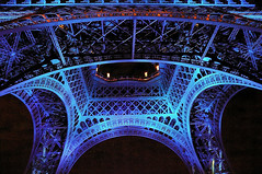 Blue Eiffel tower (erikomoket) Tags: lighting blue paris france night nikon d70 eiffeltower bleu explore toureiffel nuit    15faves    artisticexpression cherryontop 10faves 20faves 25faves mywinners mywinner abigfave seeninexplore citrit brillianteyejewel everydayissunday theperfectphotographer goldstaraward rubyphotographer 10favesext 15favesext 20favesext 25favesext erikomoket ilumination