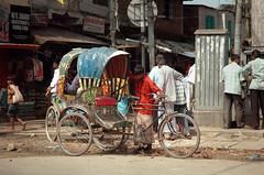 A rickshaw in Dhakka (efecg) Tags: d70s bangladesh dhakka