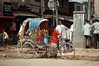 A rickshaw in Dhakka (efecégé) Tags: d70s bangladesh dhakka