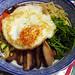 Sally Tan's bibimbap (mixed rice with vegetables)