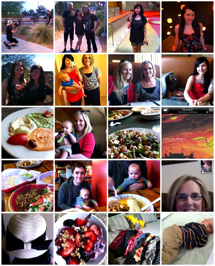 Mother's Day weekend collage