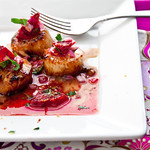 Seared Scallops with Blood Orange Salsa