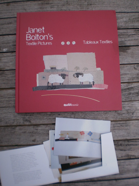 Janet Bolton's book and post cards