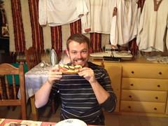 Goed ontbijt in Rakhiv!