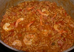 7  add shrimp at the end of cooking process