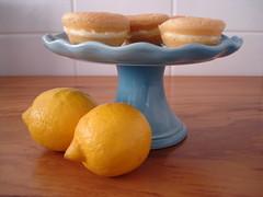 vienenses com creme de limão siciliano