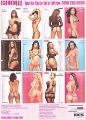 show magazine calendar5