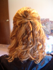 Bridesmaid (bridalinmotion) Tags: wedding hair bride pittsburgh homecoming prom bridal hairstyle updo updos weddinghair formalhair wwwbeautyinmotionnet