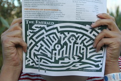 Amy's complted maze