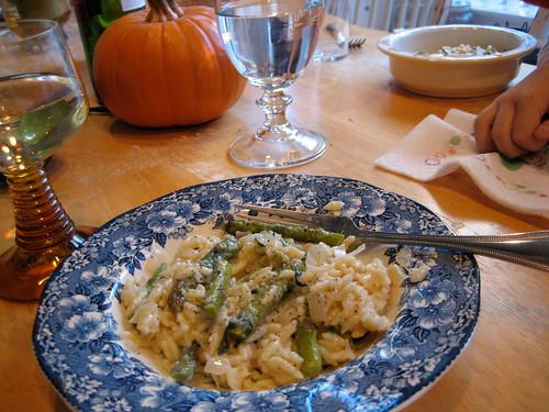 Asparagus Orzotto