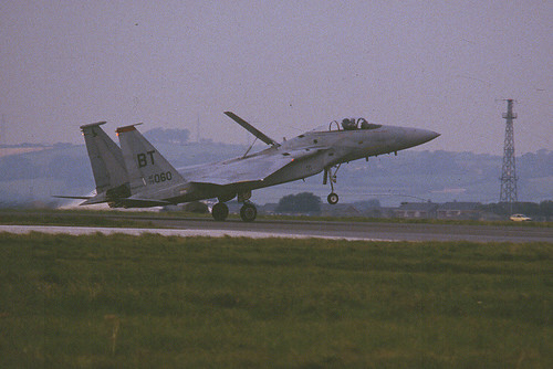 F-15C 79-0060 BT rd 36TFW St Athan 130986