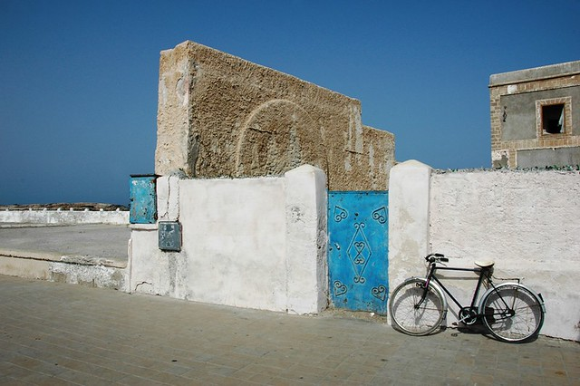 The seaside walled town of Essaouira