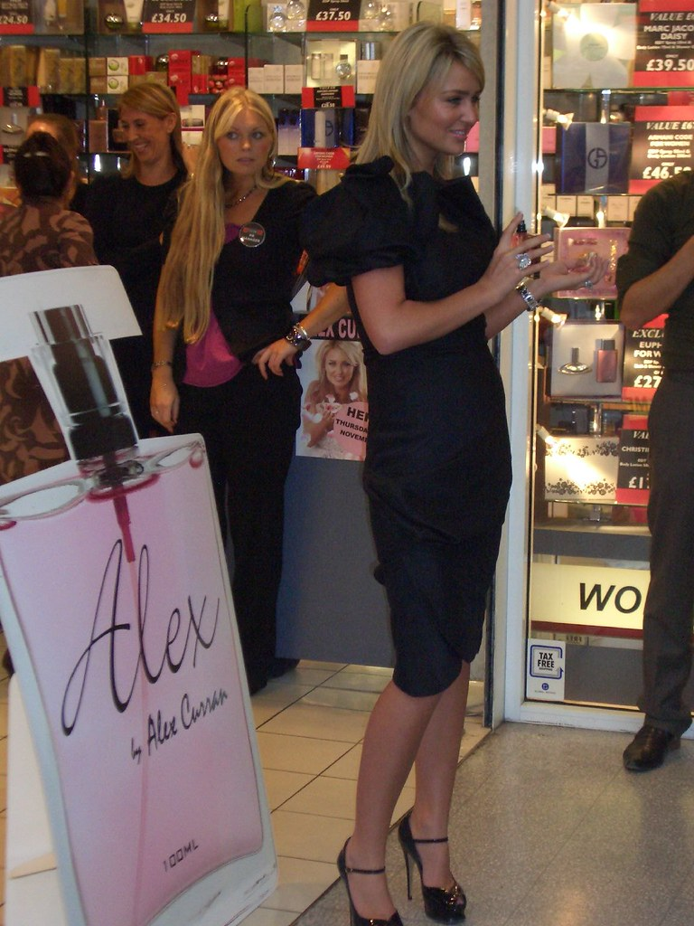 Alex Curran fragrance launch